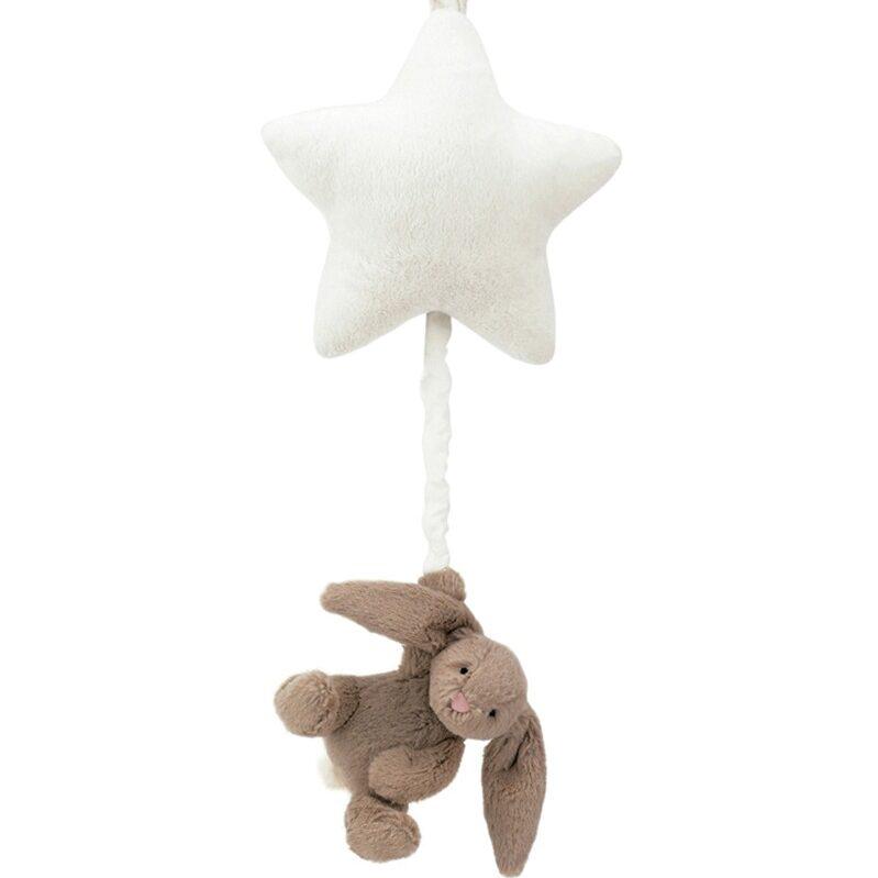 Bashful Beige Bunny Star Musical Pull 1 e1592934275521