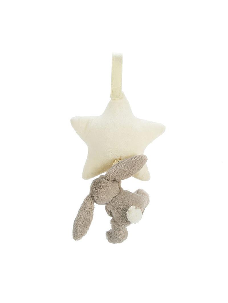 Bashful Beige Bunny Star Musical Pull 2