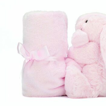 Bashful Pink Bunny Soother 1 e1592934290556