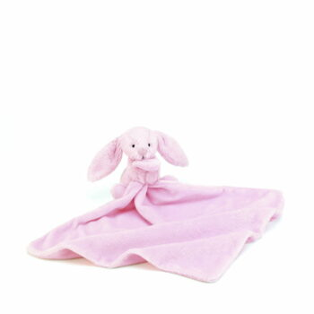Bashful Pink Bunny Soother 2