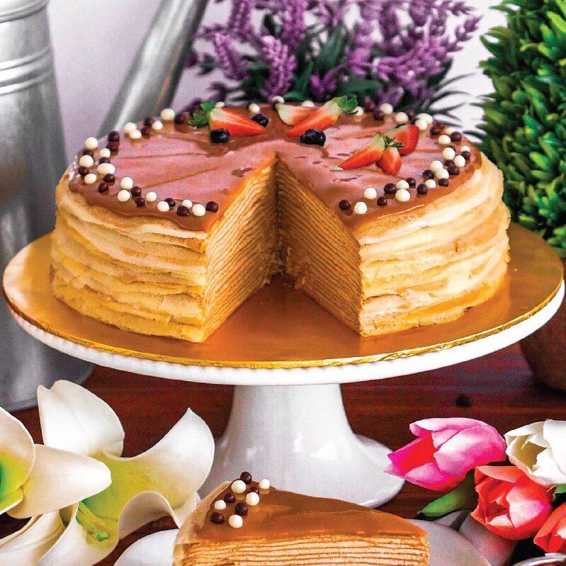 Espresso Macchiato Crepe Cake e1593061013115