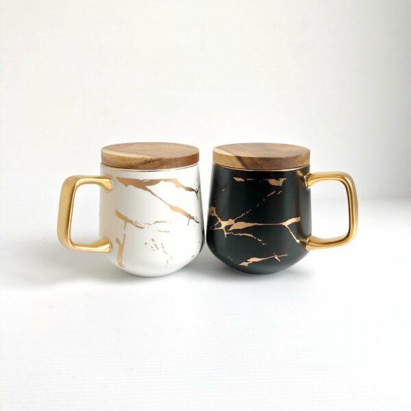 Classy Marbled Mug