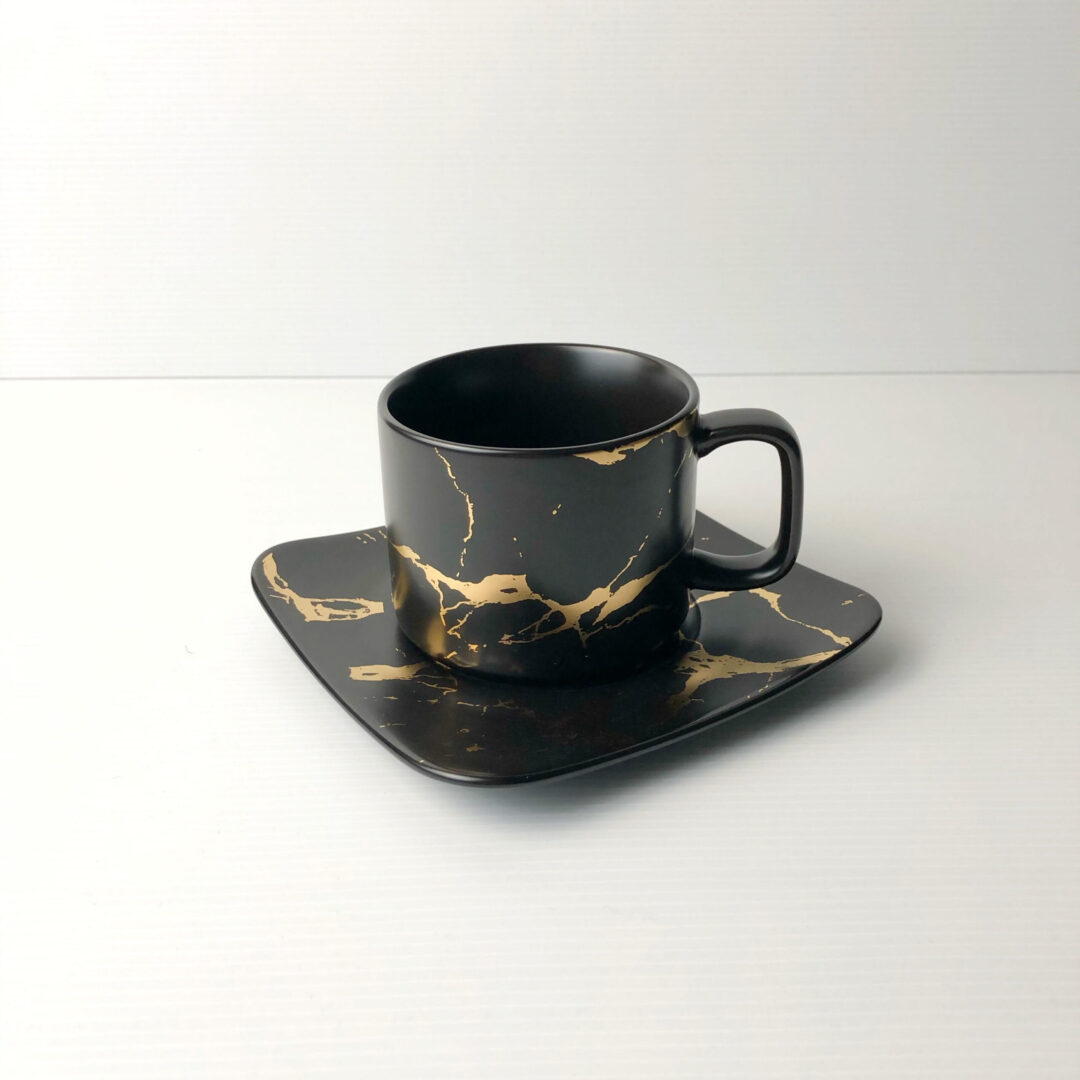Tea Time Set black scaled