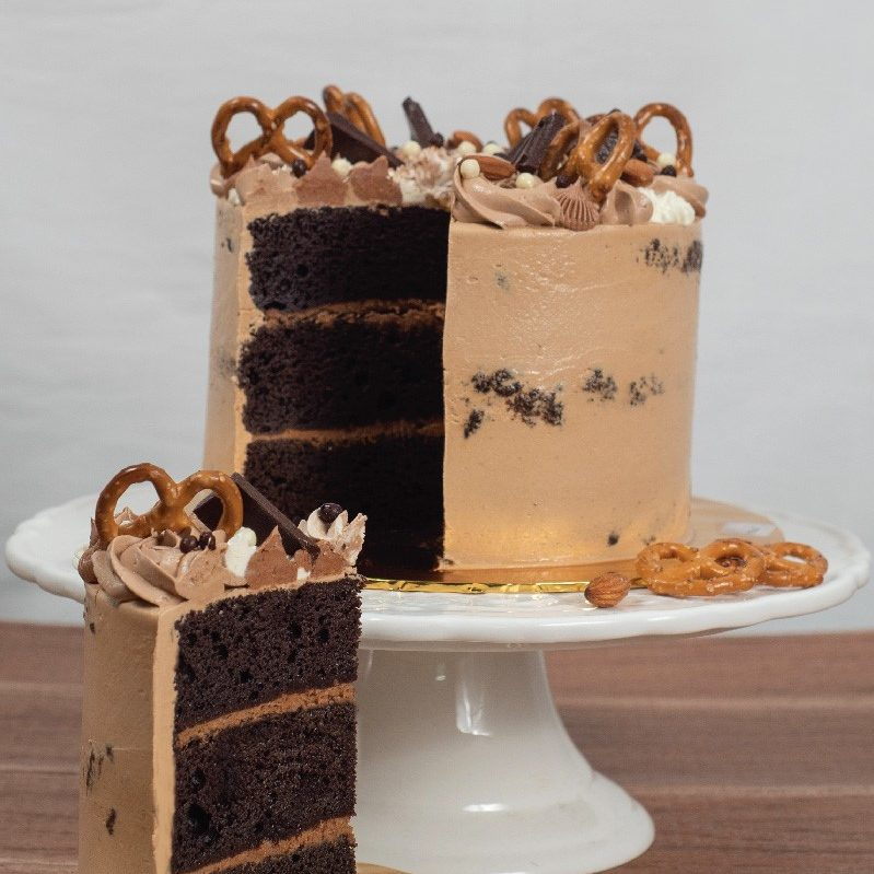 Hazelnut Chocolate Cake e1589901495918