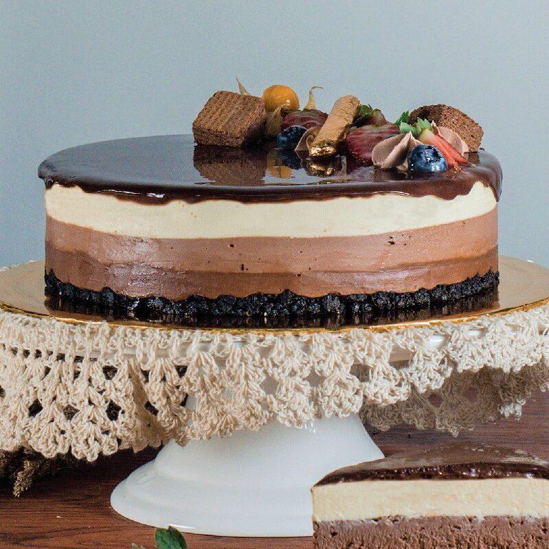 Triple Chocolate Cheesecake e1593061118136