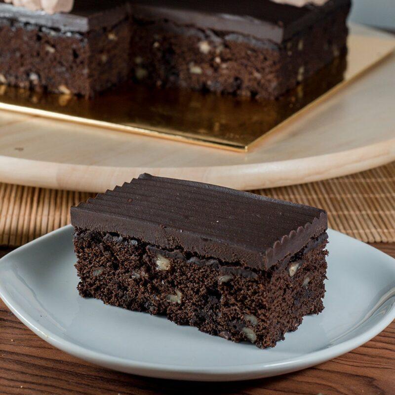 choco brownie cake 1