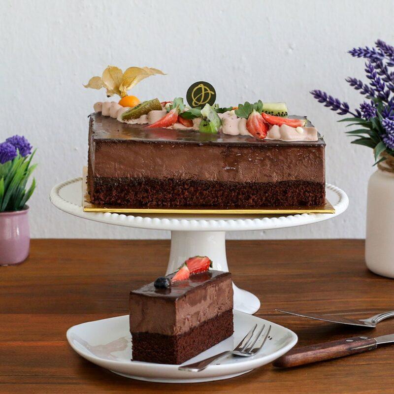 mocha cake 2