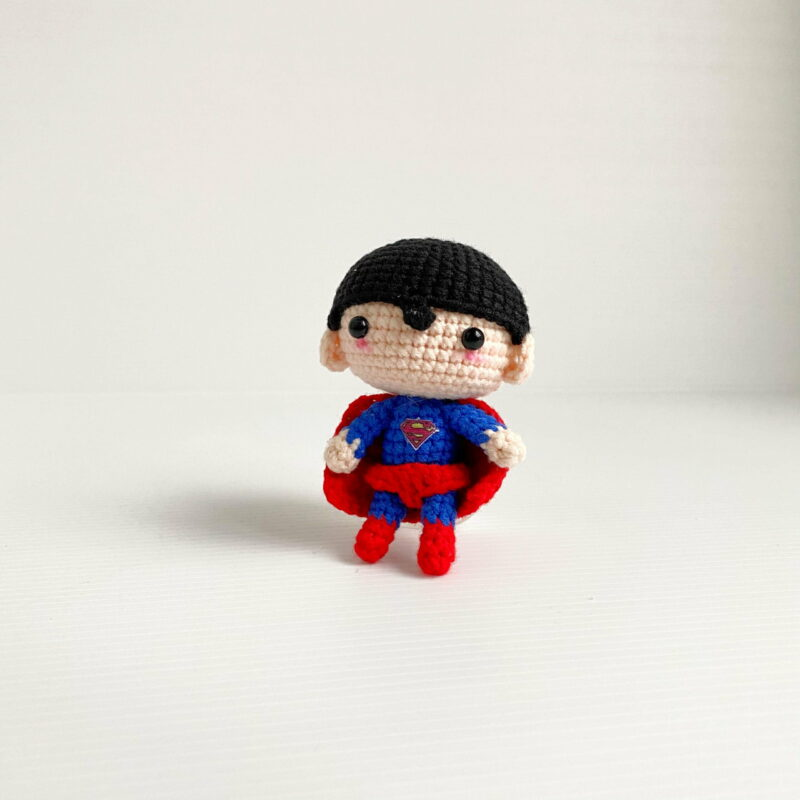 Superman Crochet scaled
