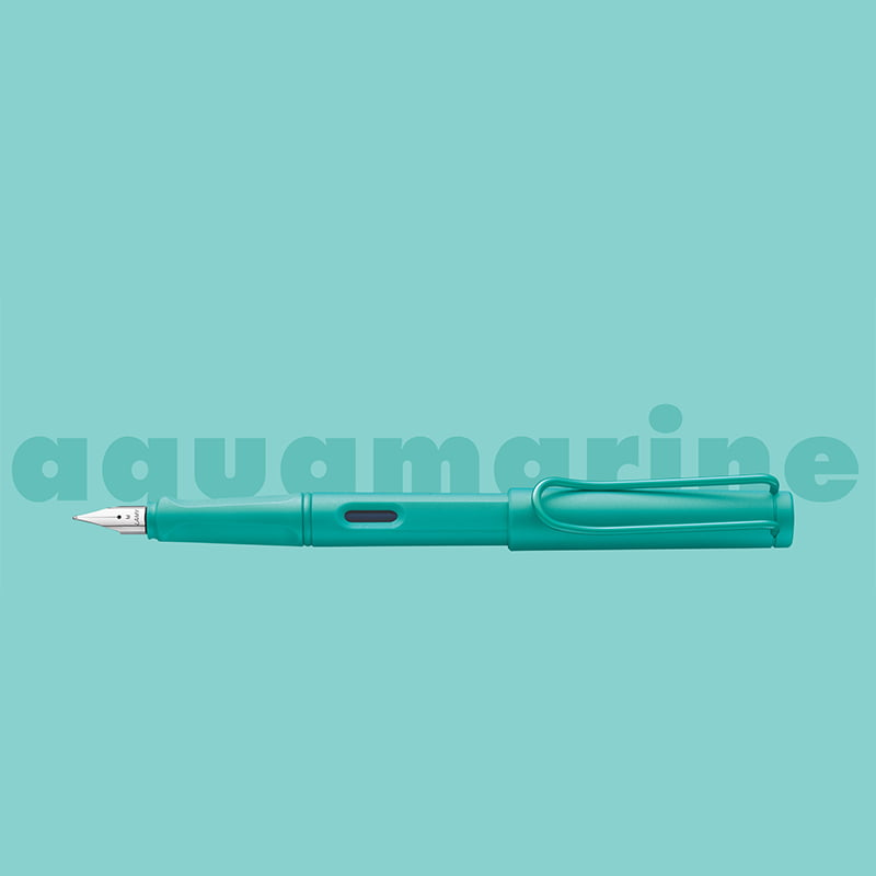 lamy safari aquamarine