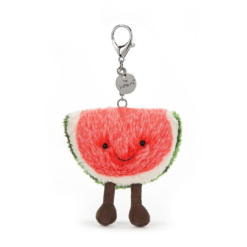 Amuseable Watermelon Bag Charm
