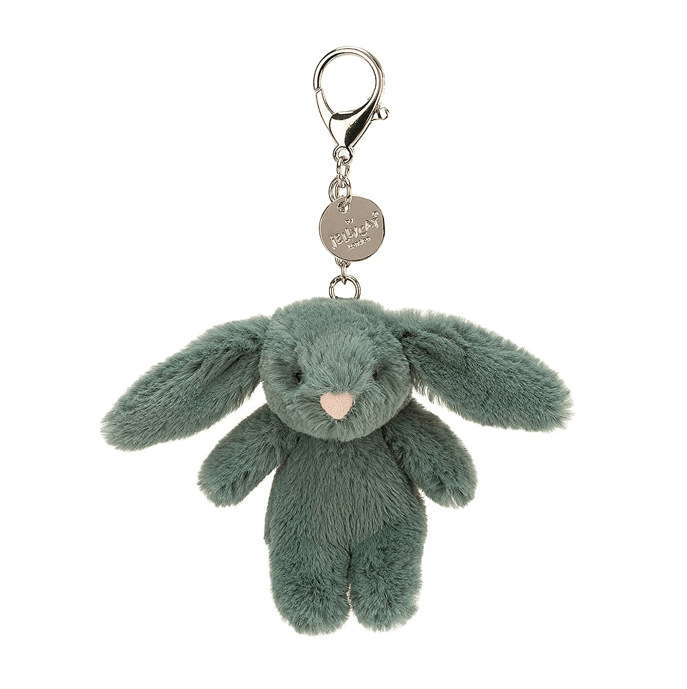 Bashful Forest Bunny Bag Charm 1