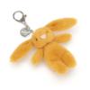 Bashful Saffron Bunny Bag Charm 2