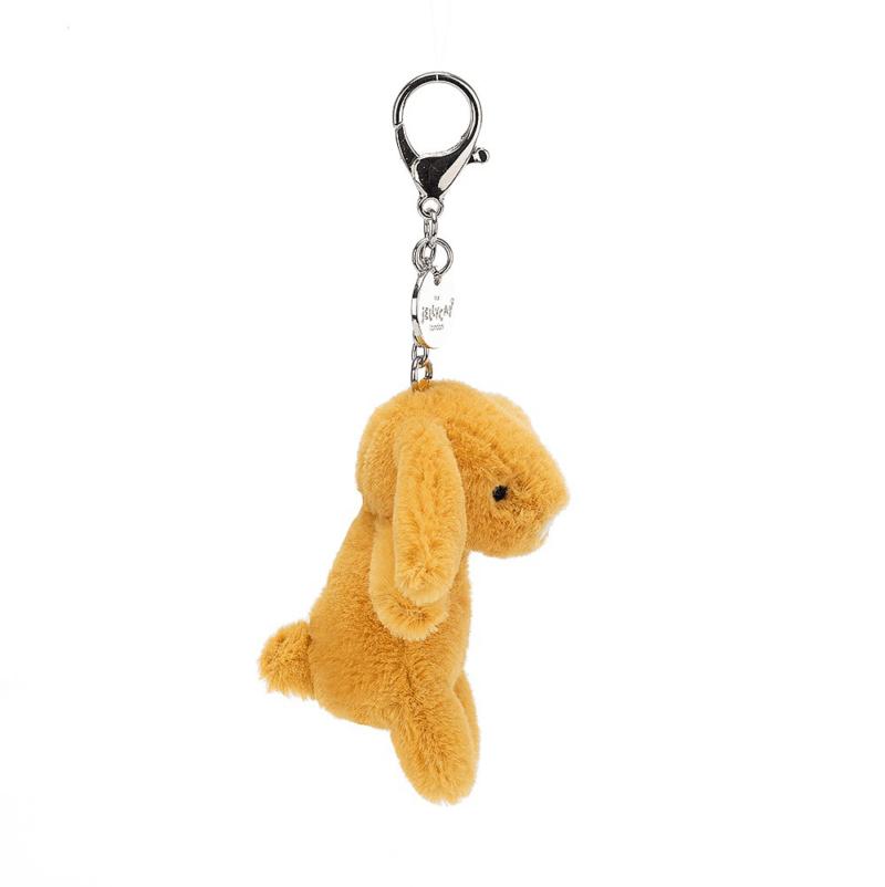 Bashful Saffron Bunny Bag Charm 3