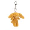 Bashful Saffron Bunny Bag Charm 4