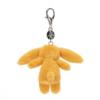 Bashful Saffron Bunny Bag Charm 5