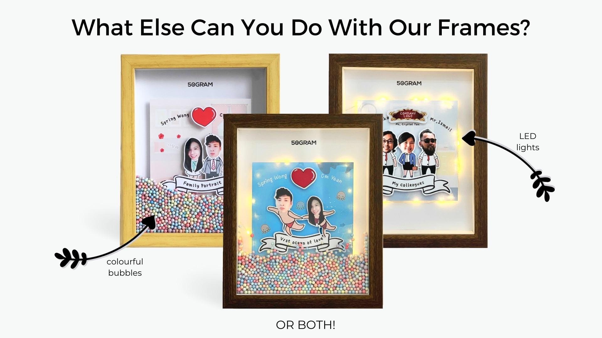 Customized Cartoon Frame