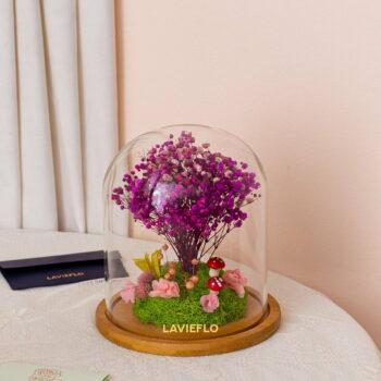 Wishing tree lavender