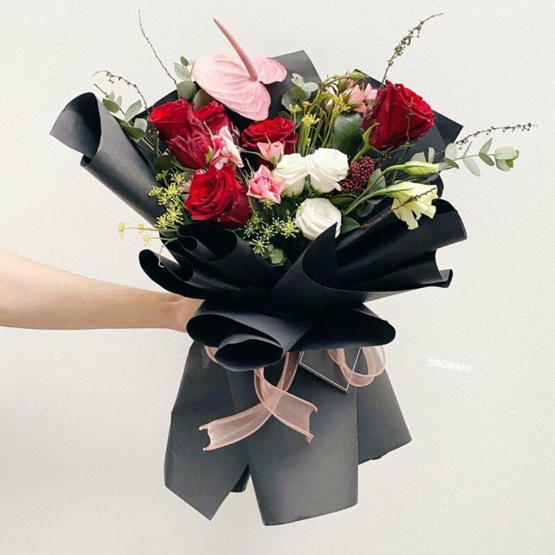 Dark Scarlet Bouquet Ads 3