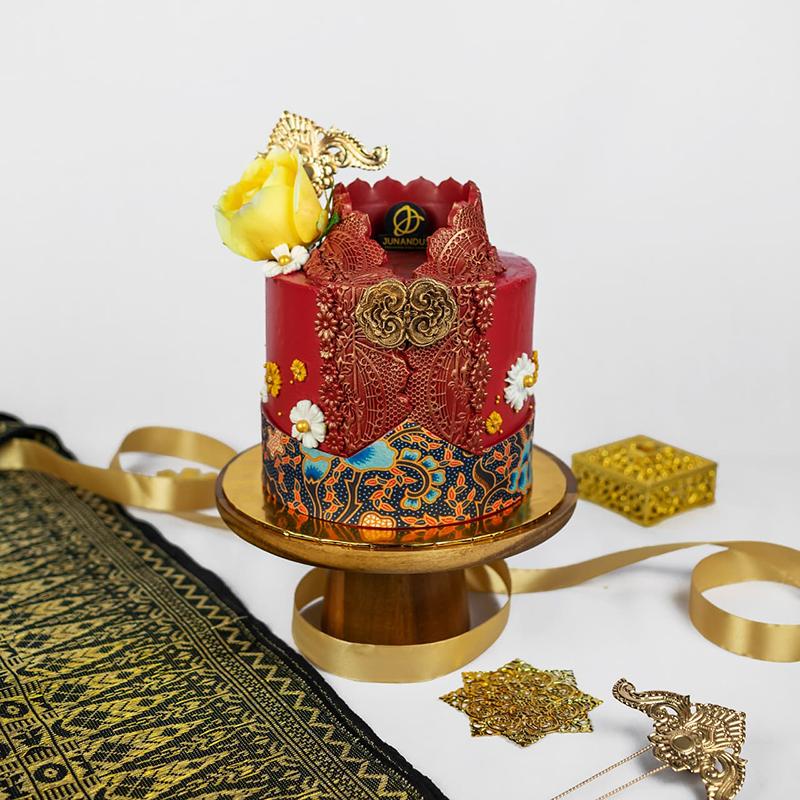 Baju Kebaya Designer Cake 1