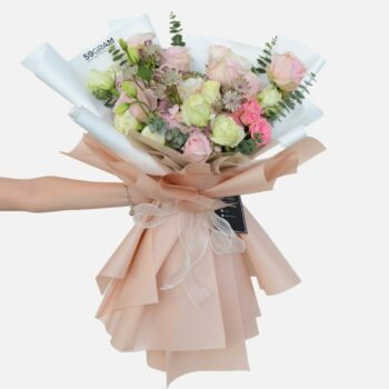 Adeline Pink Large Bouquet
