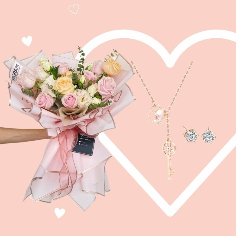 Promise Heart Flower Bundle Celovis