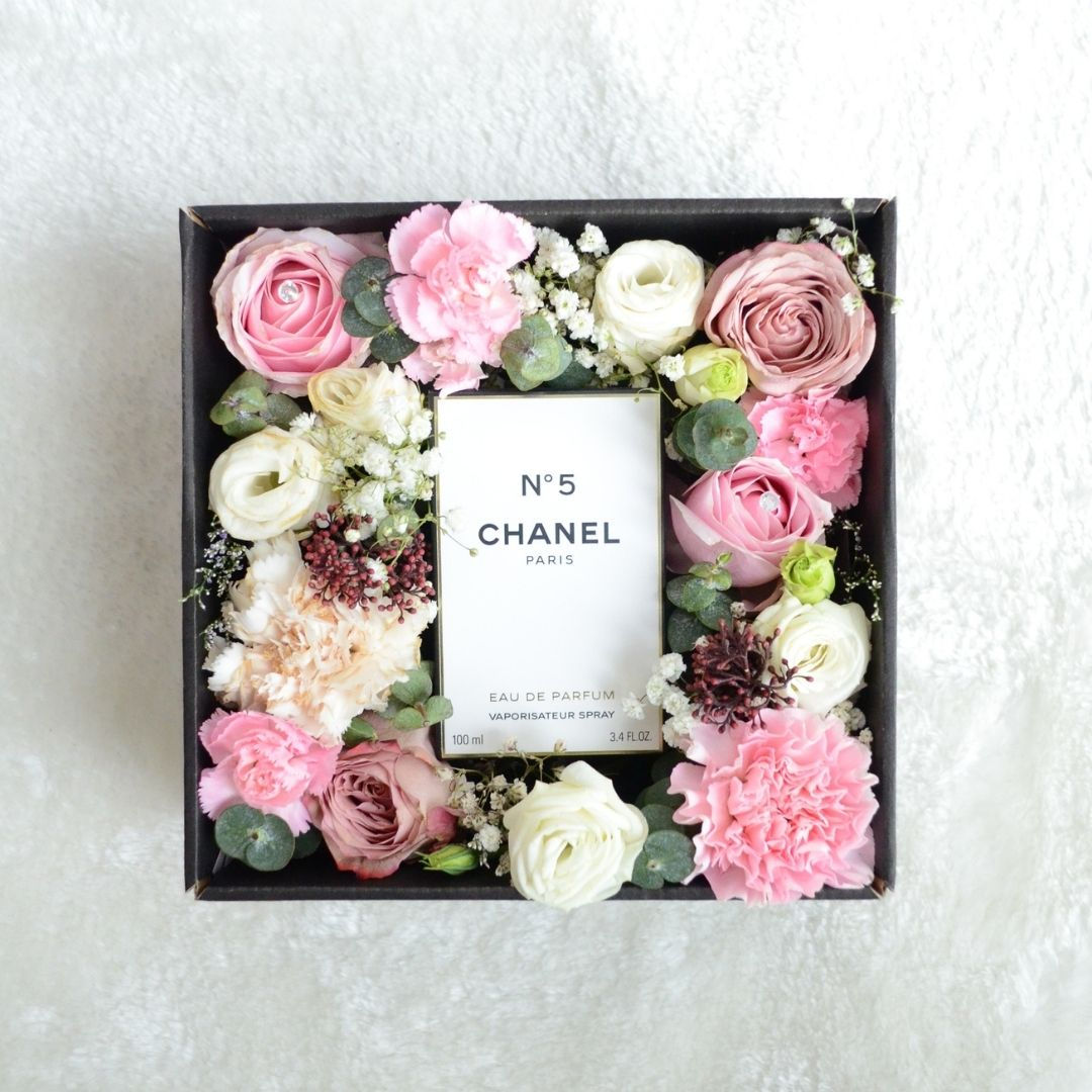 chanel n5 Flower Box 1.1