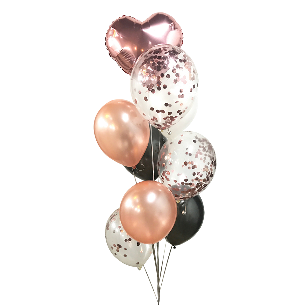 confetty metallic balloon