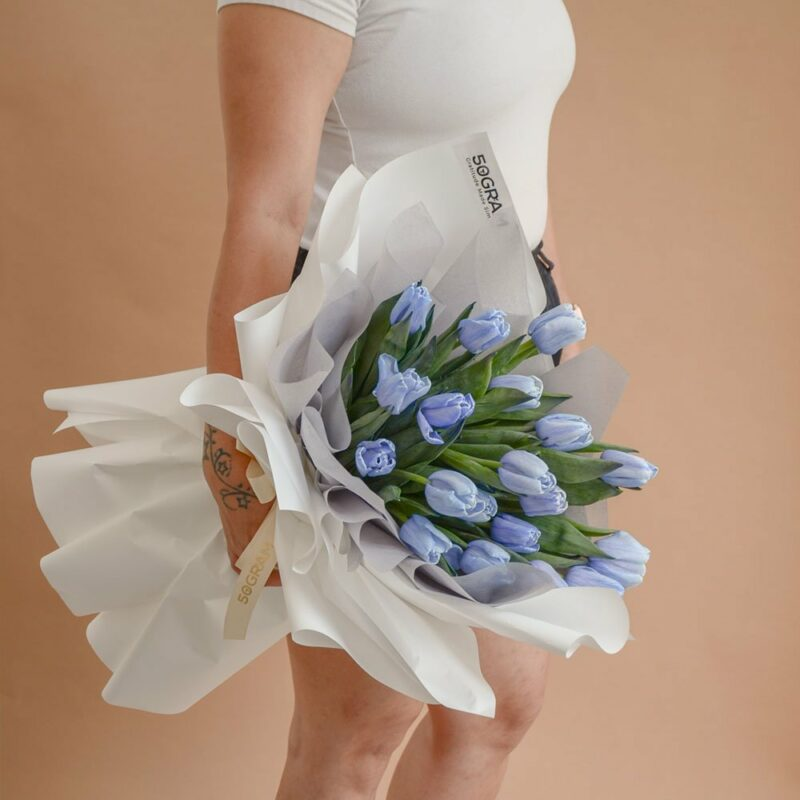 Blue Tulips 20 1