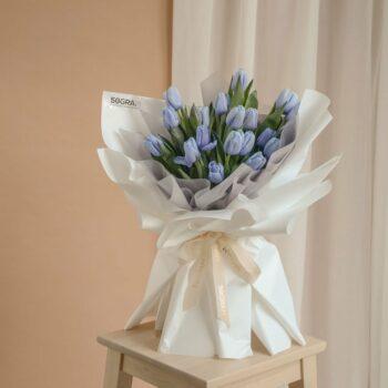 Blue Tulips 20 4