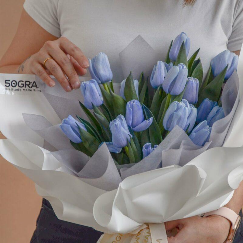 Blue Tulips 20 5