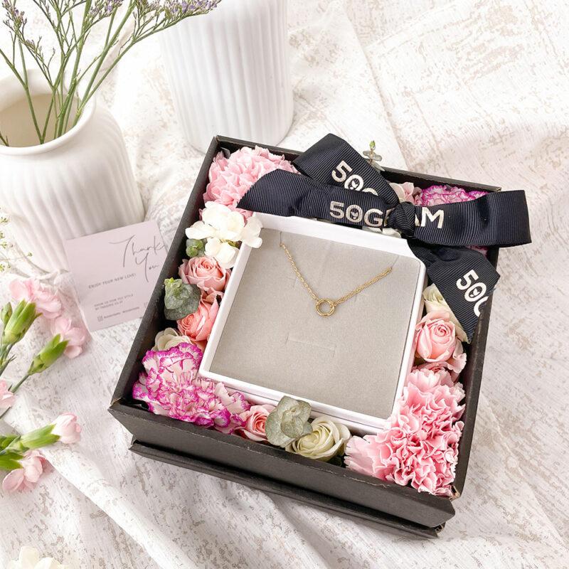 Bracelet Gold Flower
