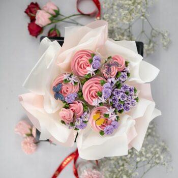 Cupcake Flower Bouquet 4