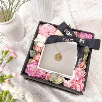 Map flower Box
