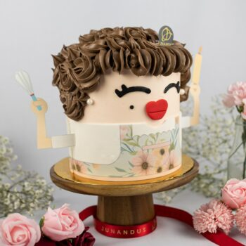 Mommy the Best Chef Cake 2