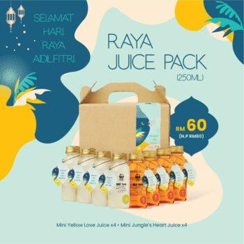 Raya Juice Pack Jungle House