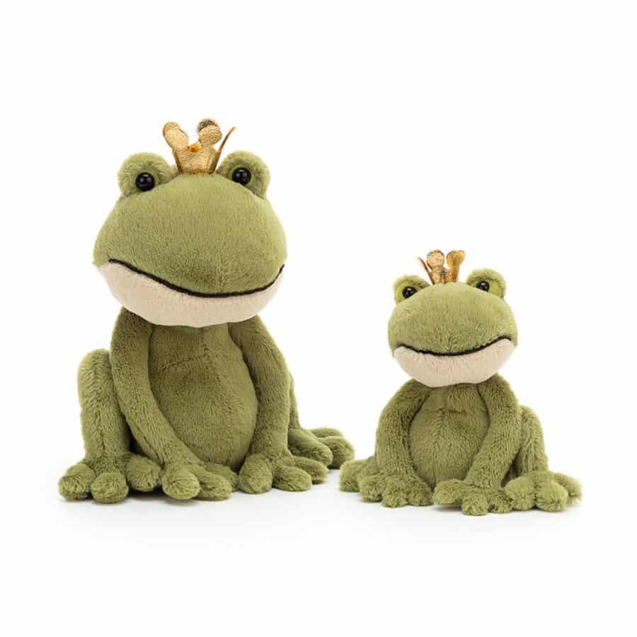 FEL2M Felipe Frog Prince Medium Group e1577999841688