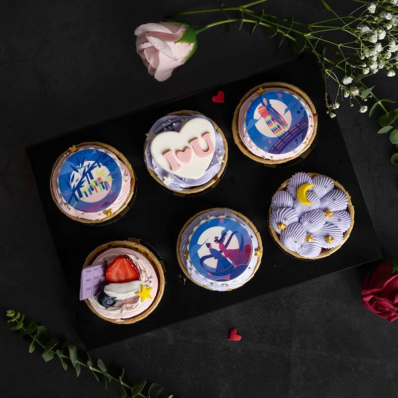 Chinese Valentine Cupcake 8